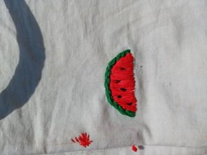 Embroidery kit photo review